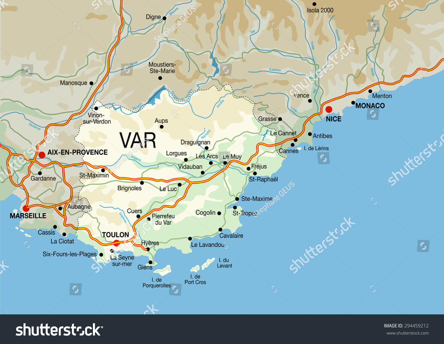 french riviera map map of french riviera with cities and towns map