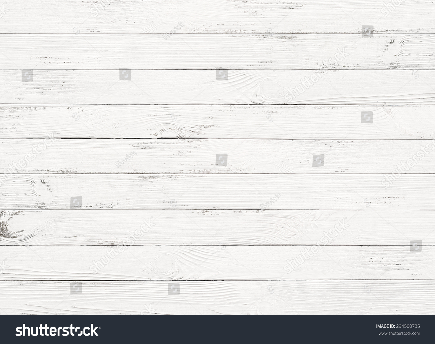 White Wood Plank Texture Background Stock Photo 294500735 ...