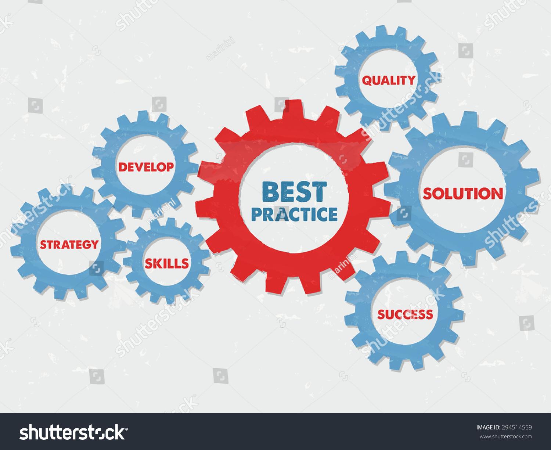 best practice quality solution success develop stock illustration best practice quality solution success develop strategy skills business