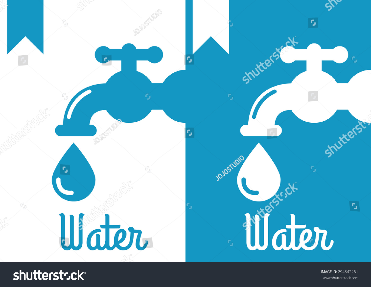 Faucet Logo Icon Stock Vector (Royalty Free) 294542261 - Shutterstock