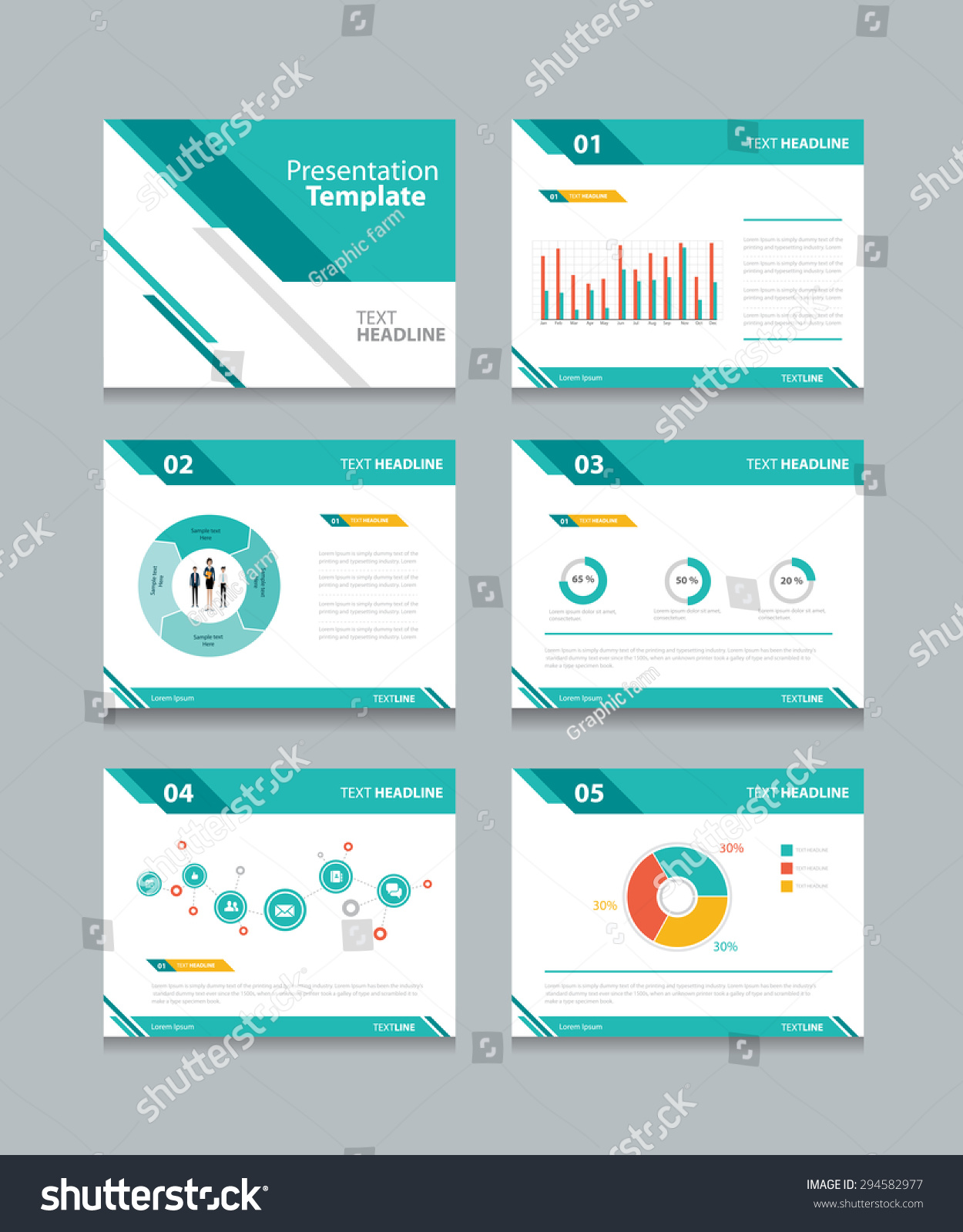business presentation template setpowerpoint template design の
