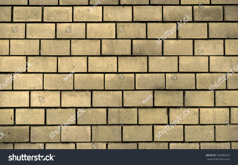 Texture Yellow Decorative Tiles Form Brick Stock Photo 294584363 ...