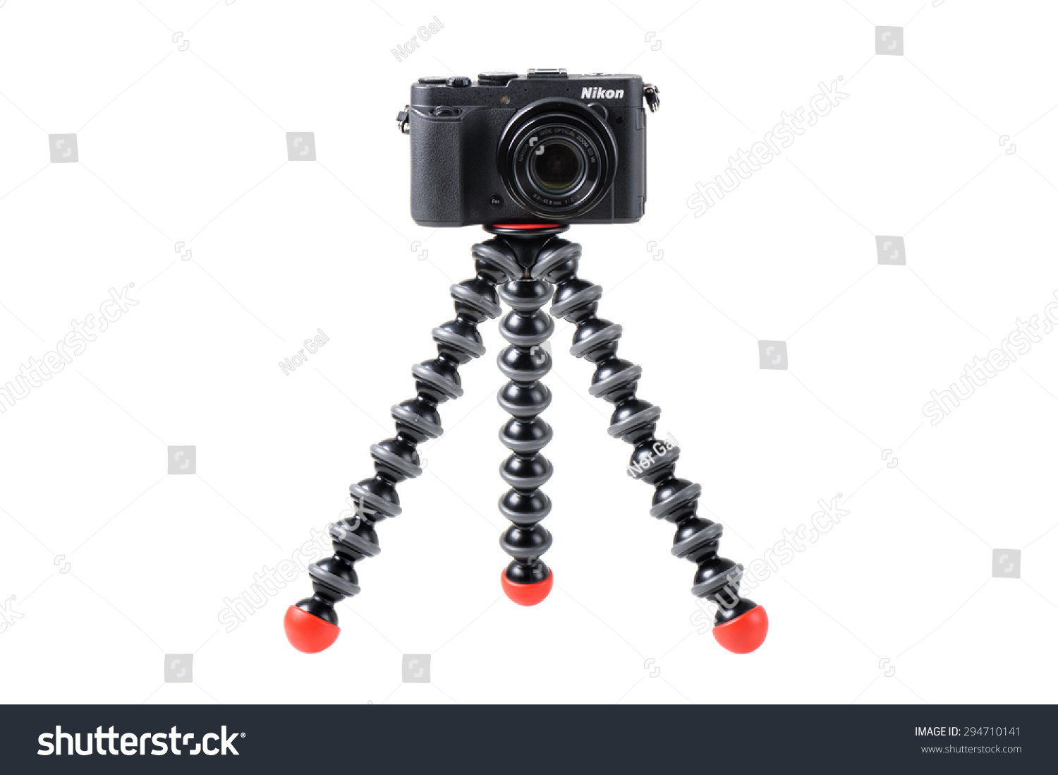 Bangkok Thailand July 07 2015 Joby Stock Photo Edit Now 294710141 Gorillapod Small The Slr Zoom