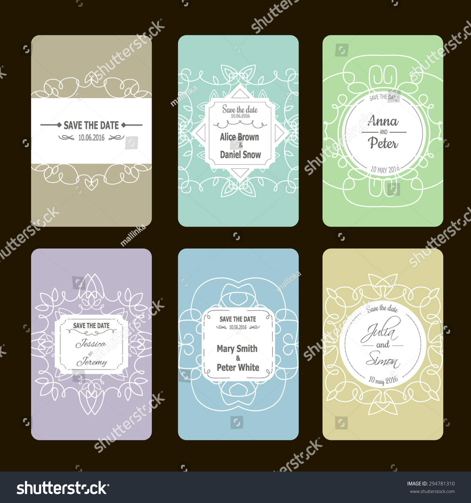 Vector greeting cards collection ideal save stock vector royalty vector greeting cards collection ideal for save the date baby shower mothers day m4hsunfo