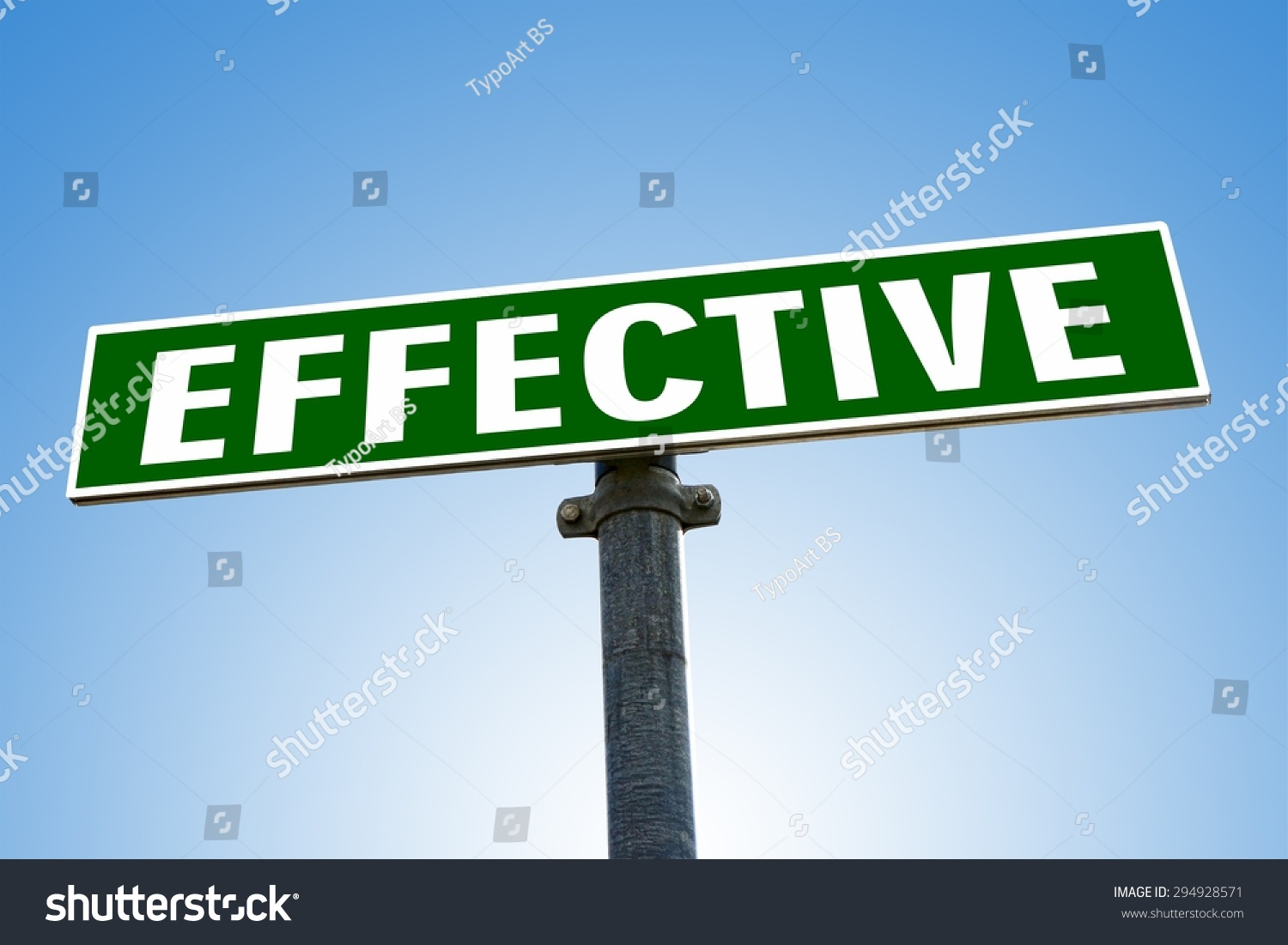 effective word on green road sign stock photo 294928571 shutterstock