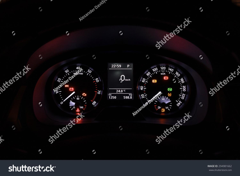 Cars Dashboard Stock Photo Shutterstock - Car image sign of dashboardcar dashboard sign multifunction display stock photo royalty