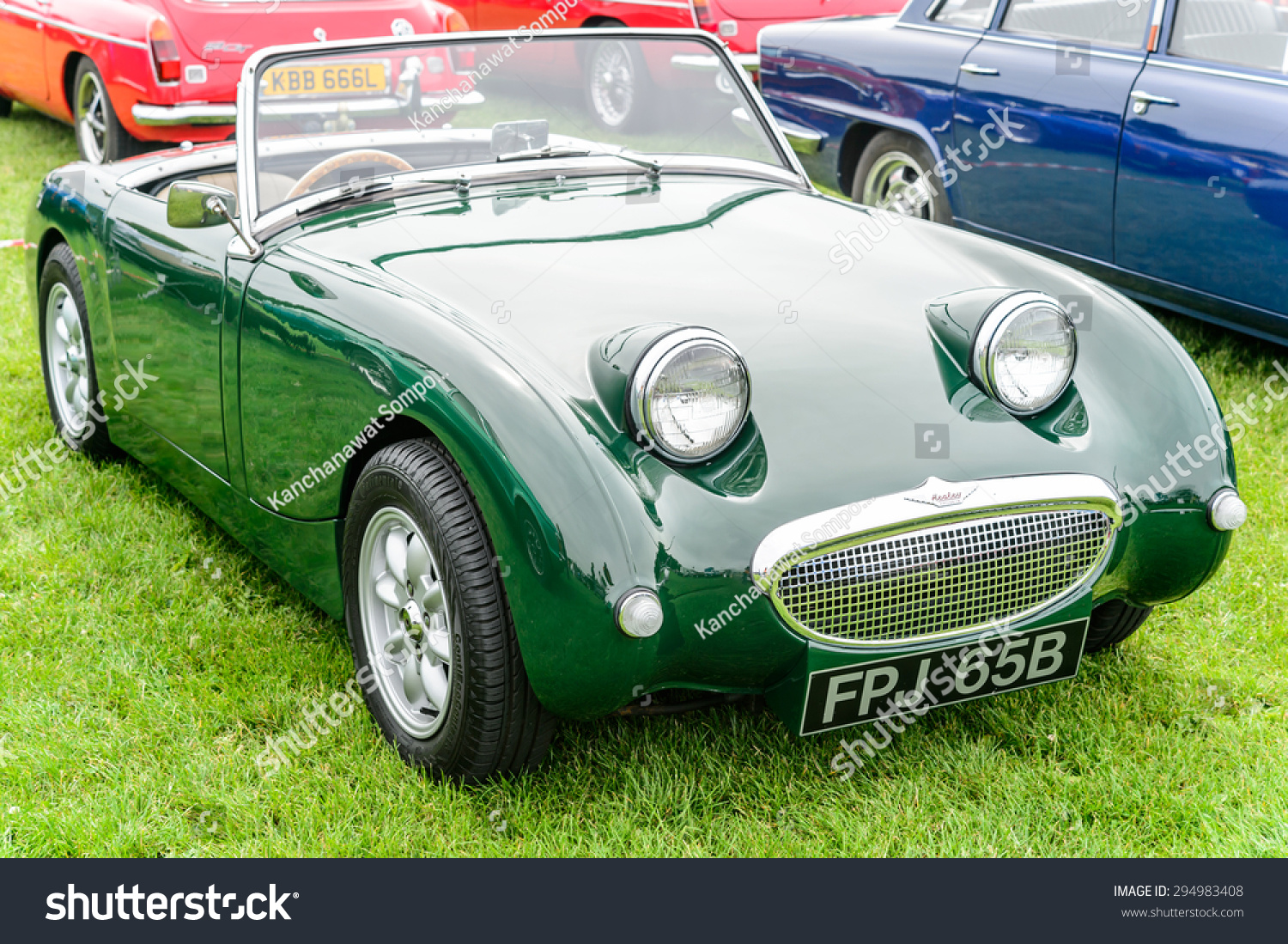 JULY 5 Vintage MG Northumberland Classic Stock Photo (Royalty Free ...