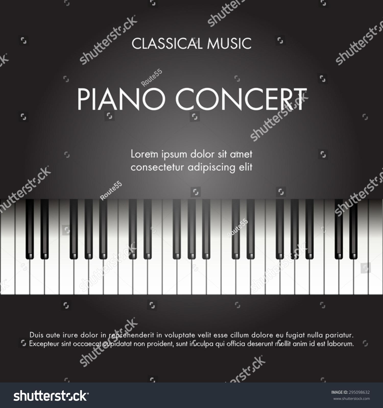 Piano Recital Invitation Template is Amazing Sample To Make Cool Invitation Card