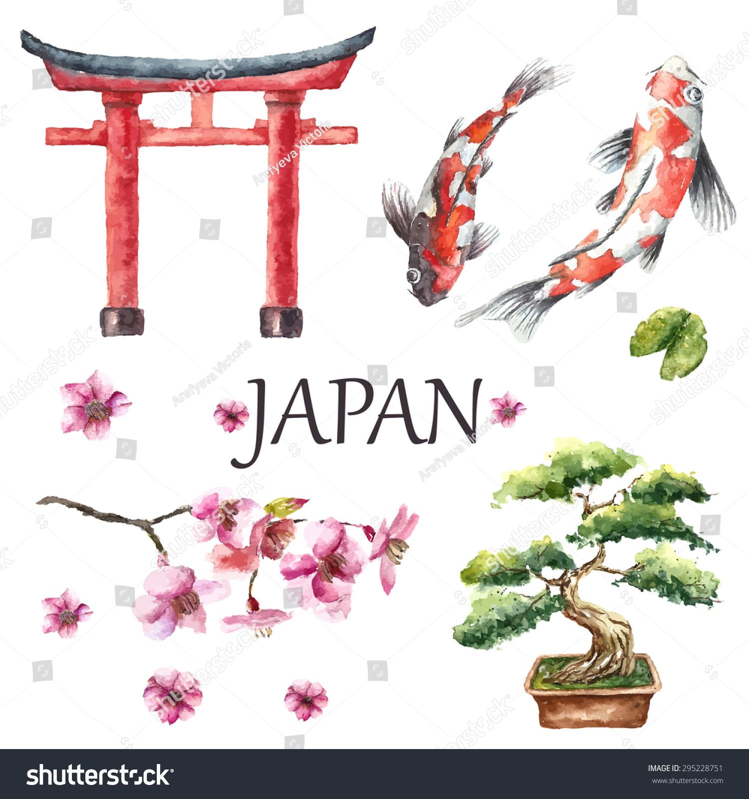 Japanese Torii Gate Tattoo Design