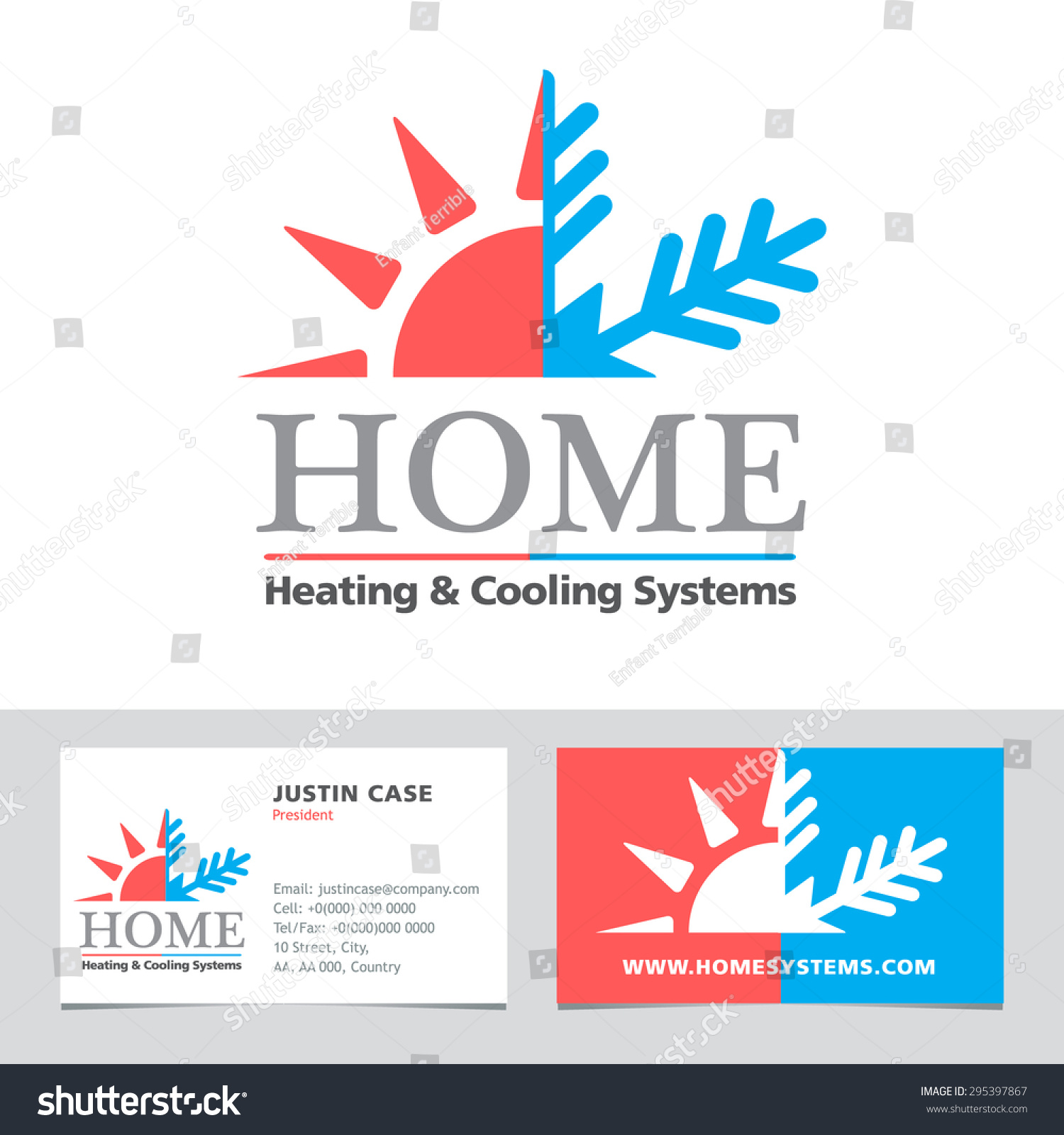 Elegant pictures of air conditioning business cards for Hvac business card template