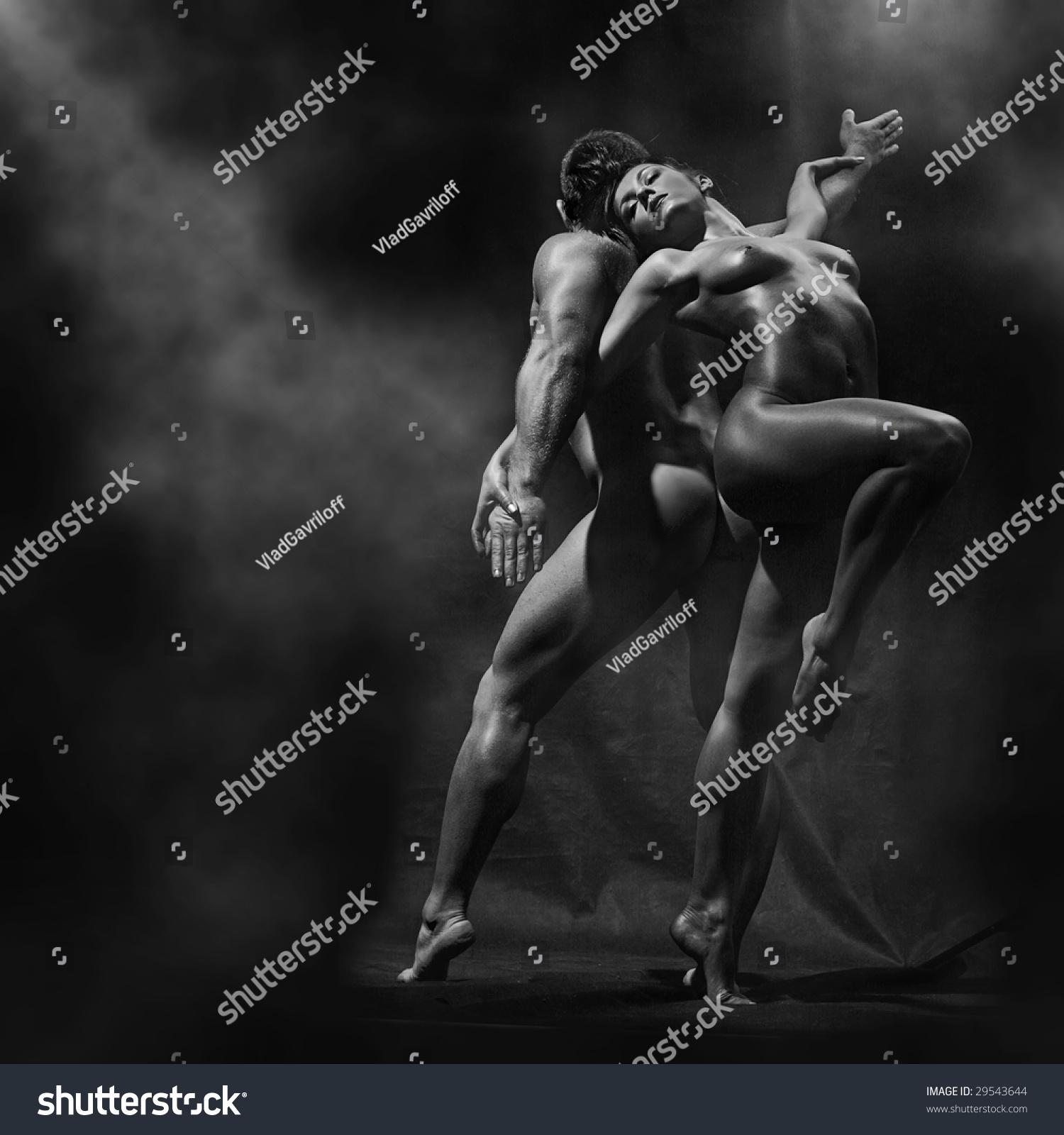 Strong Naked Slim Women 16