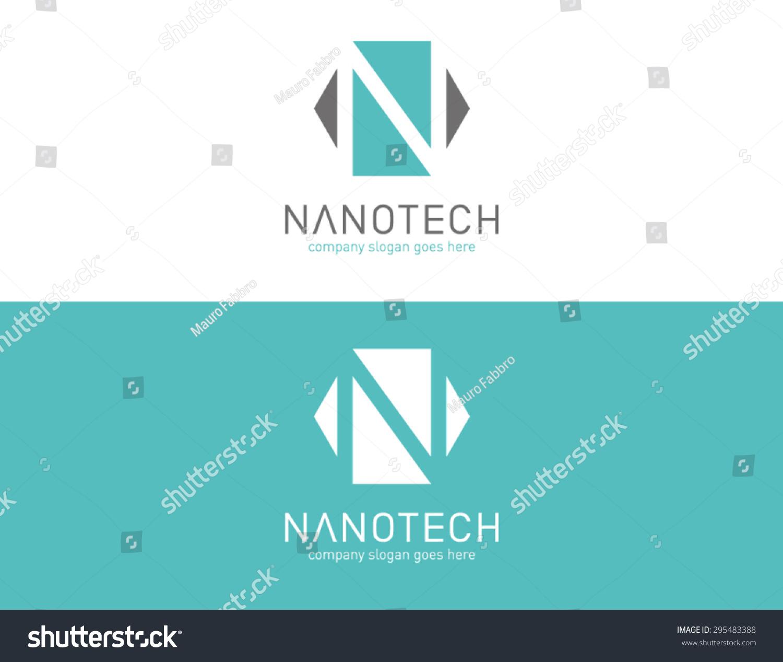 Logo Template Bio Technology Nano Laboratory Vector – Company Bio Template