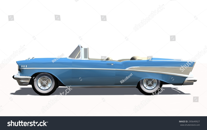 classic us car oldtimer cabriolet isolated stock illustration 295649927 shutterstock. Black Bedroom Furniture Sets. Home Design Ideas