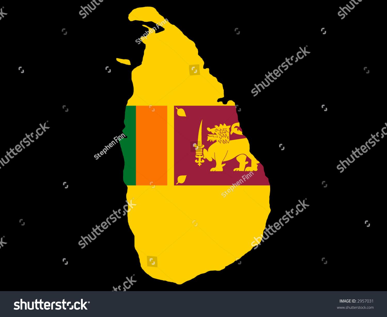 how to draw sri lanka flag