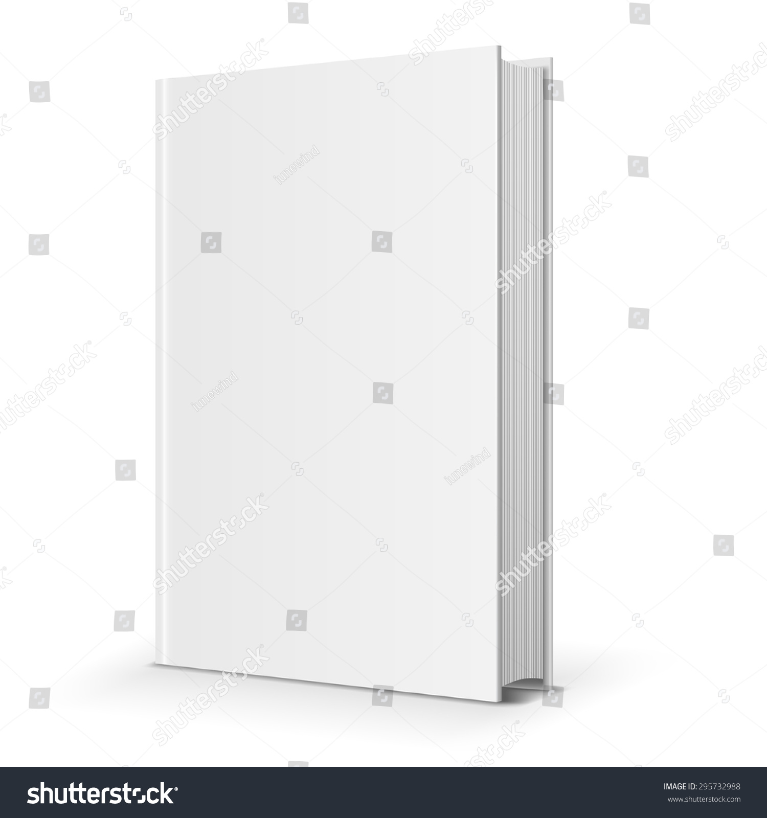 Blank Book Cover Vector Illustration Free : Blank book cover vector illustration over stock