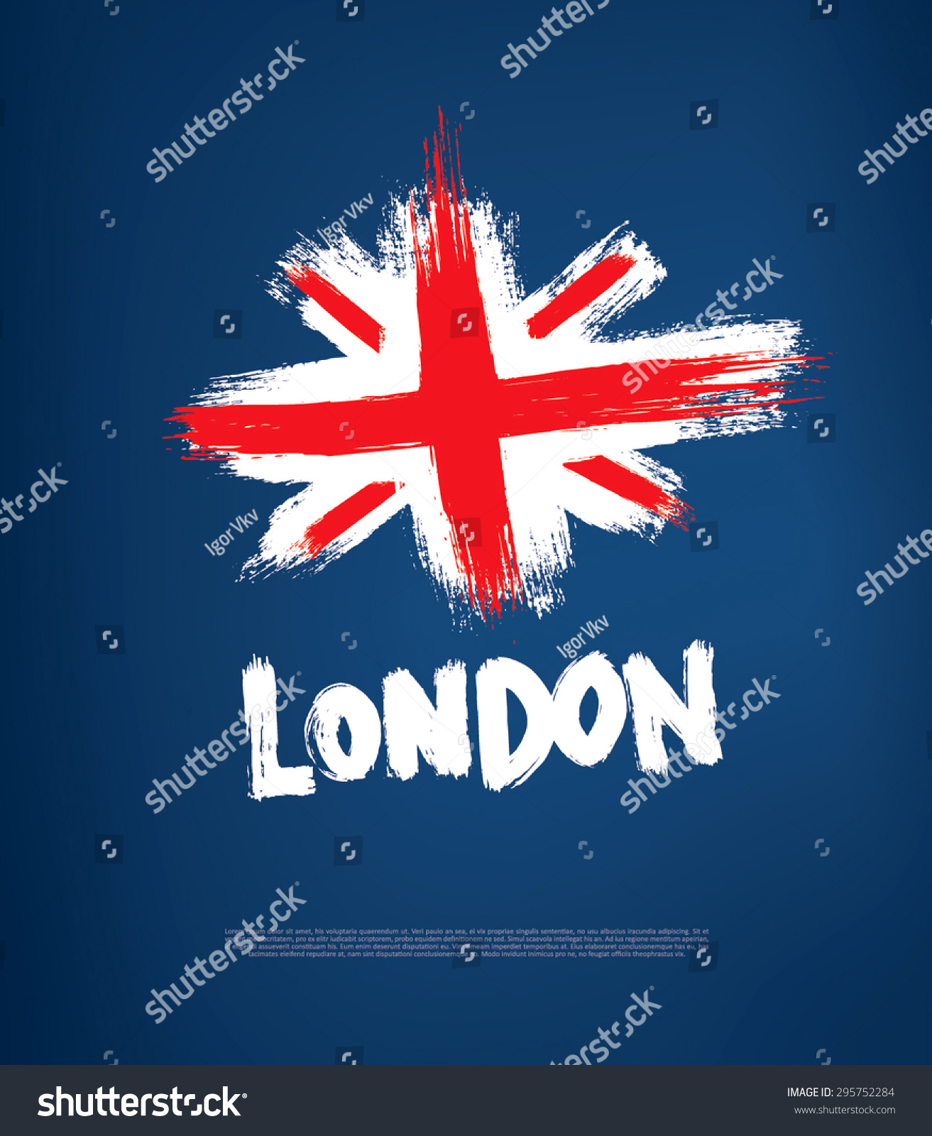 grunge great britain flag stock vector 295752284 shutterstock