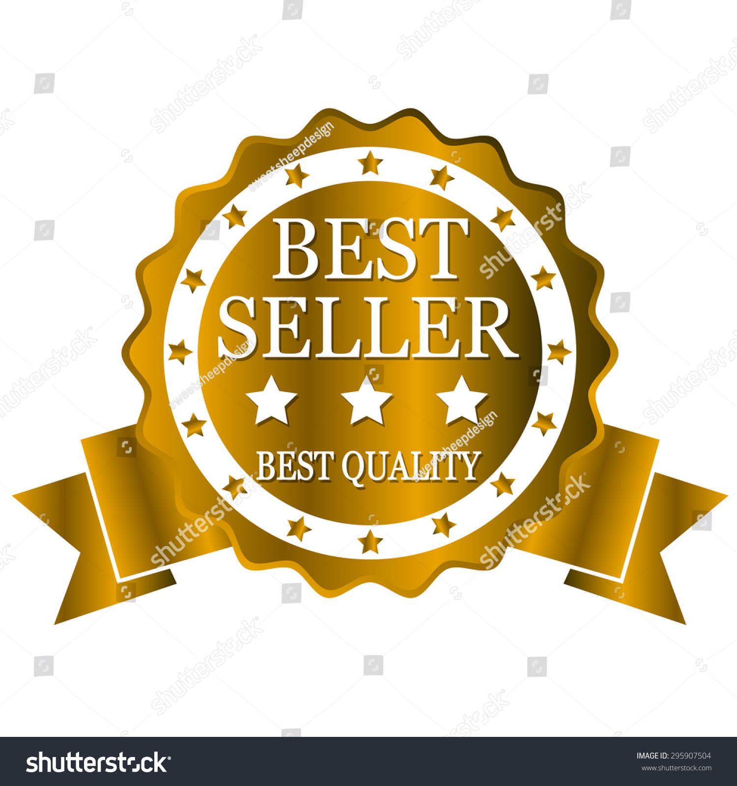 depositphotos rendering background white quality word gold illustration stock on high photo