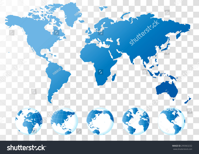 Blue world map vector stock photo photo vector illustration blue world map vector gumiabroncs Choice Image