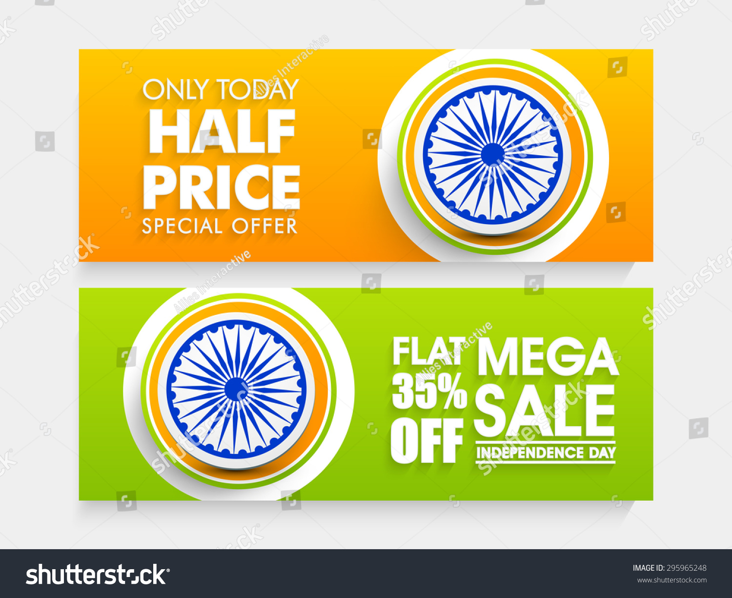 Colors website ashoka - National Flag Colors Sale Website Header Or Banner Set Decorated With Ashoka Wheel For Indian Independence