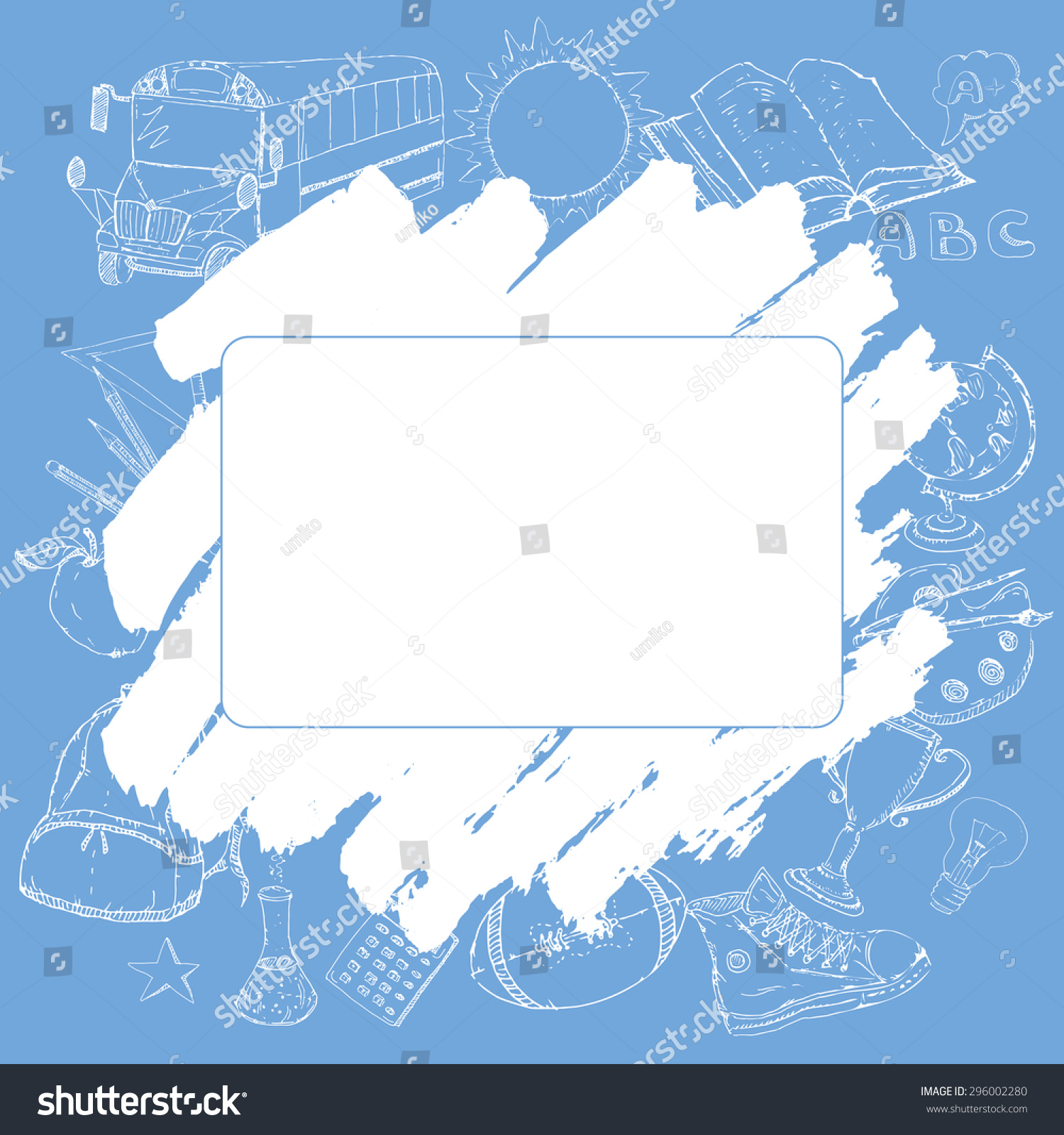 Free School Notebook Cover Vector : Cover template card diary notebook school stock vector