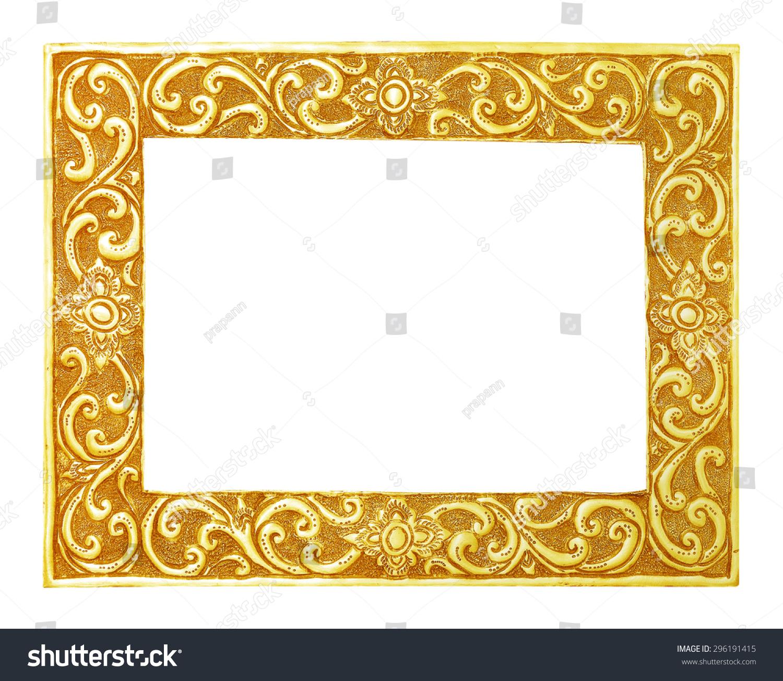 Royalty-free Old decorative frame - handmade,… #296191415 Stock ...