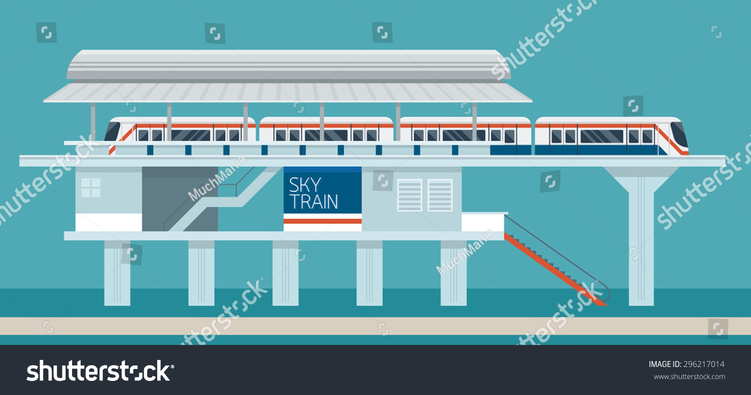 how to design a train station