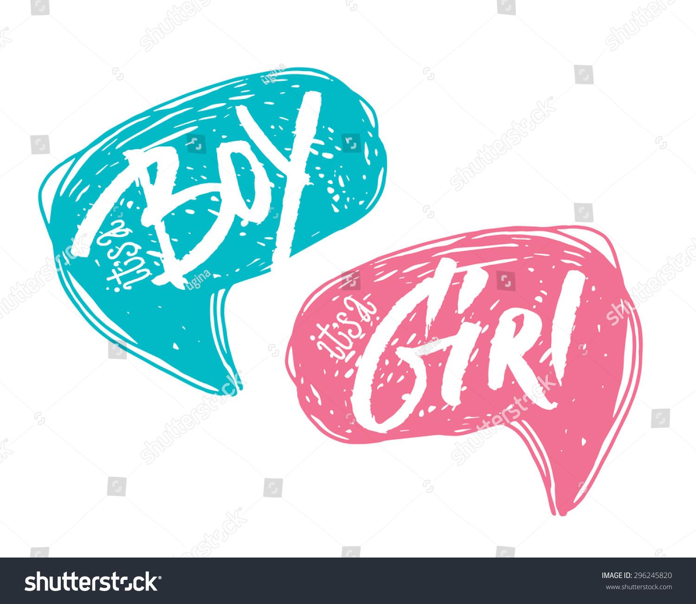 boy girl bubbles baby shower card のベクター画像素材 ロイヤリティ