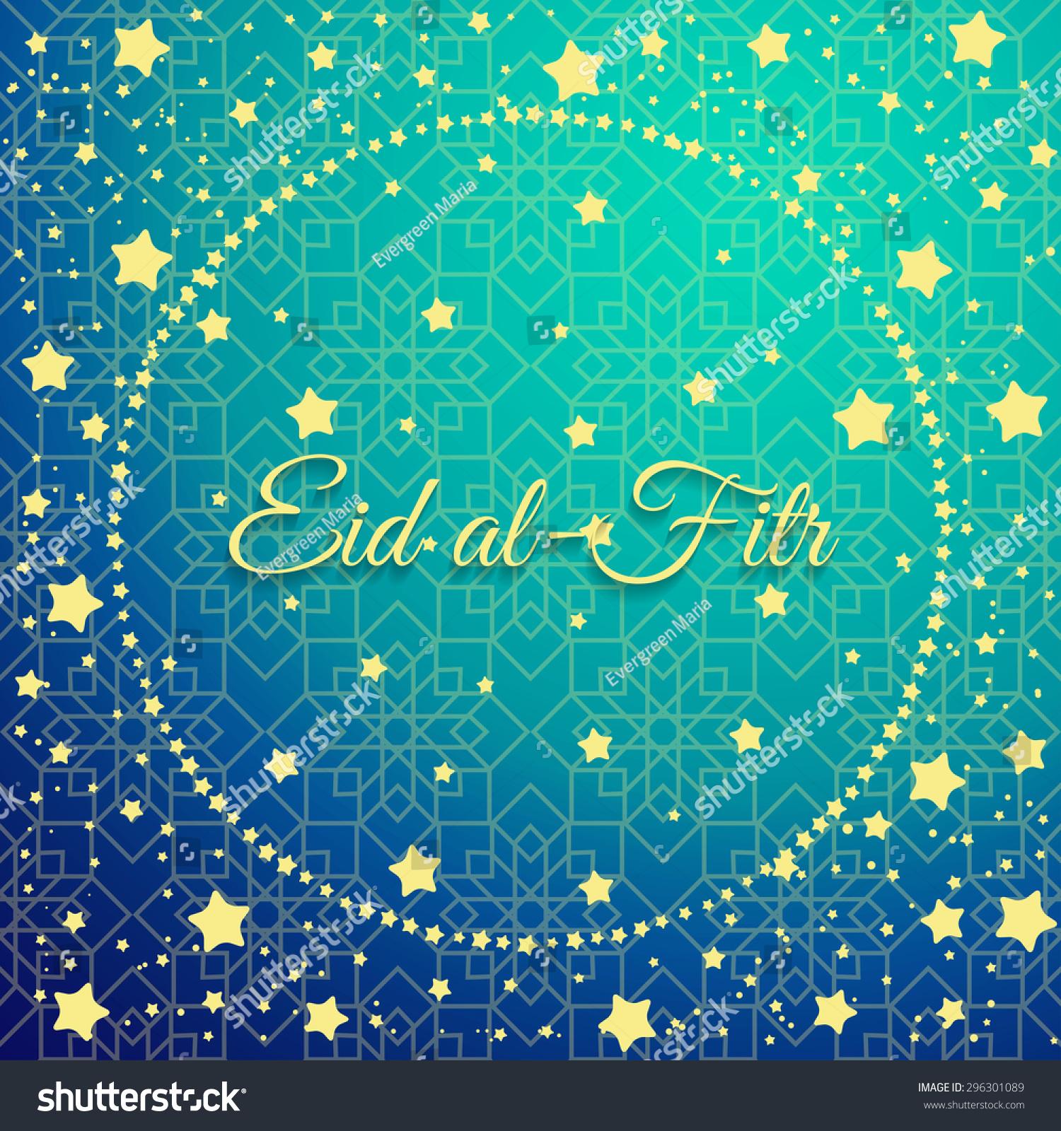 Download Hajj Eid Al-Fitr Decorations - stock-vector-muslim-community-festival-eid-al-fitr-celebration-greeting-card-decorated-with-golden-stars-and-296301089  2018_168362 .jpg