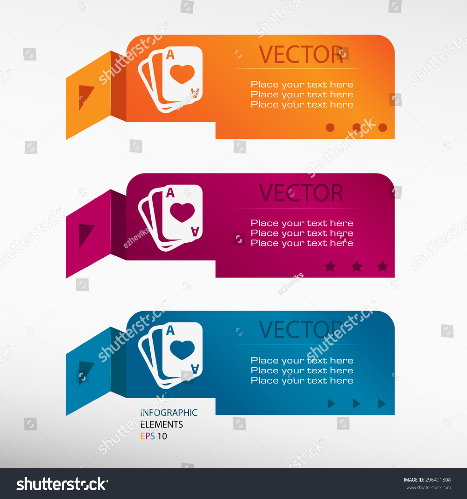 Game cards icon on origami paper stock vector 296491808 shutterstock game cards icon on origami paper banners can be used for workflow layout diagram jeuxipadfo Images
