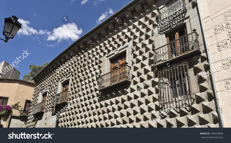 Casa De Los Picos With Its Facade Covered By Granite ...