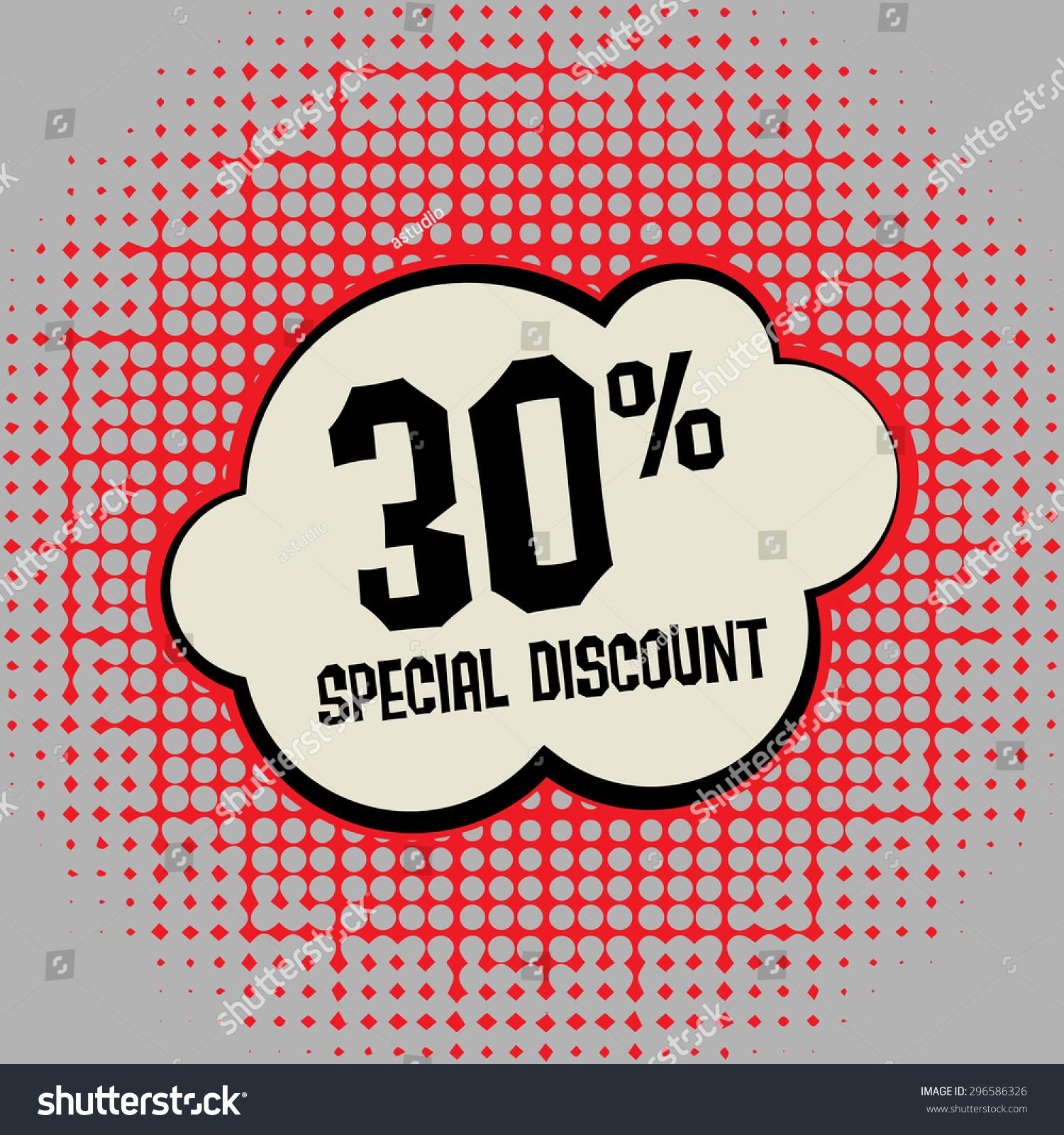 Comic explosion text special discount vector stock vector comic explosion with text special discount vector illustration buycottarizona