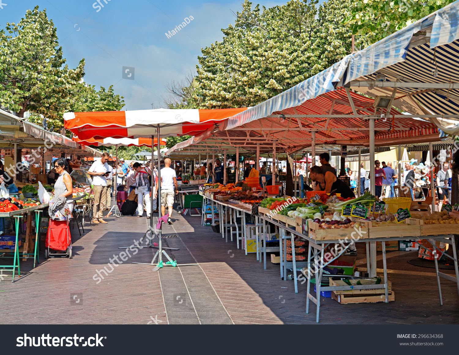 Nice france june 3 2015 cours stock photo 296634368 for Interieur cours nice