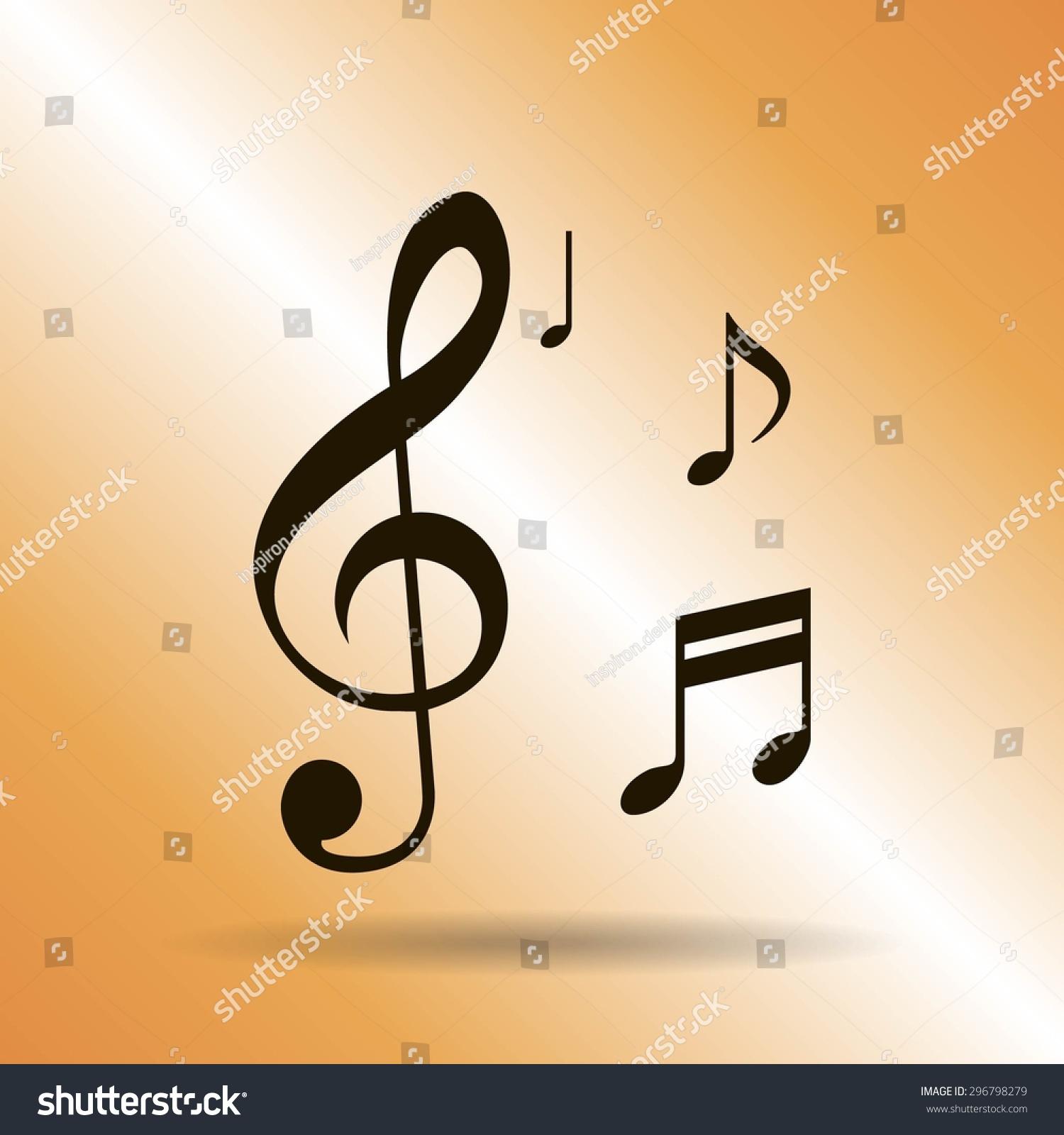 Musical note - Vector icon | EZ Canvas