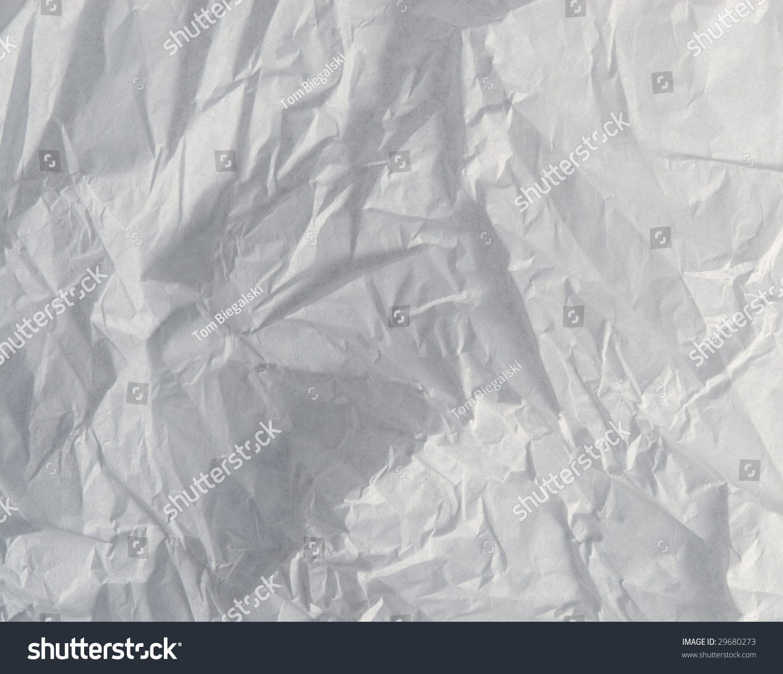 Crumpled Tissue Paper Background Texture Stock Photo 29680273 : Shutterstock