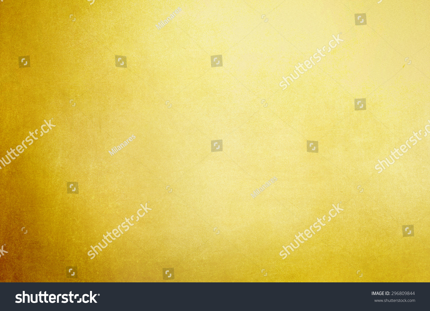 Abstract Gold Background Paper Brown Border Stock Illustration ...