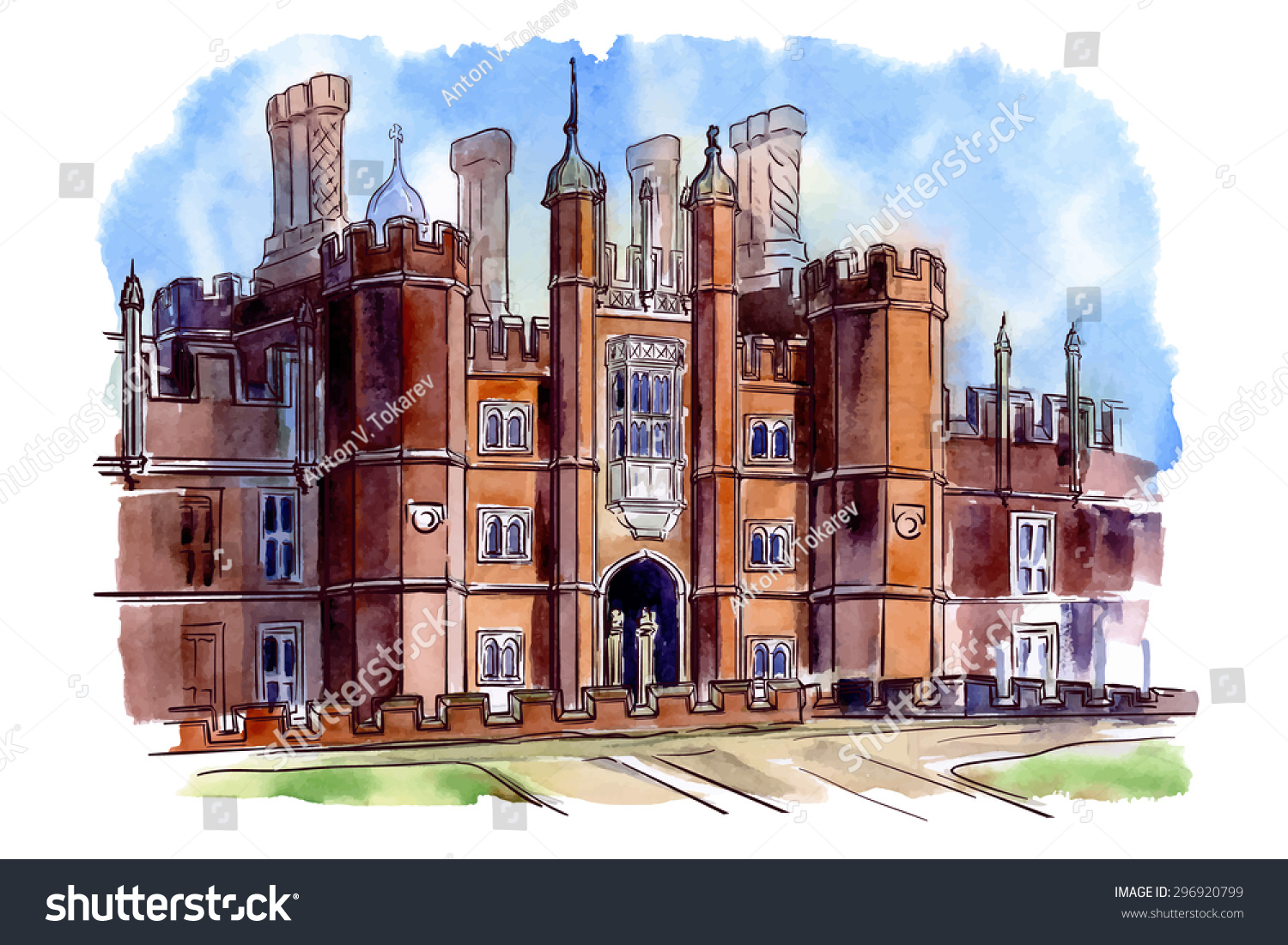 History british architectural styles tudor architecture for Architects hampton