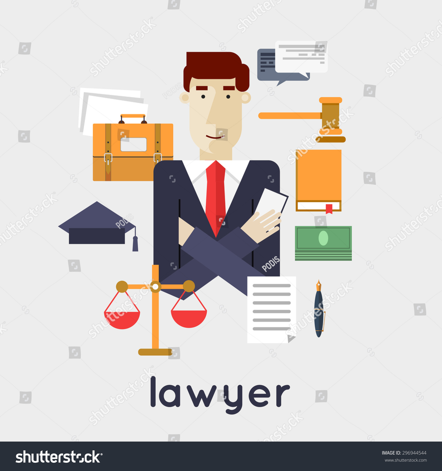 lawyer vector - photo #10