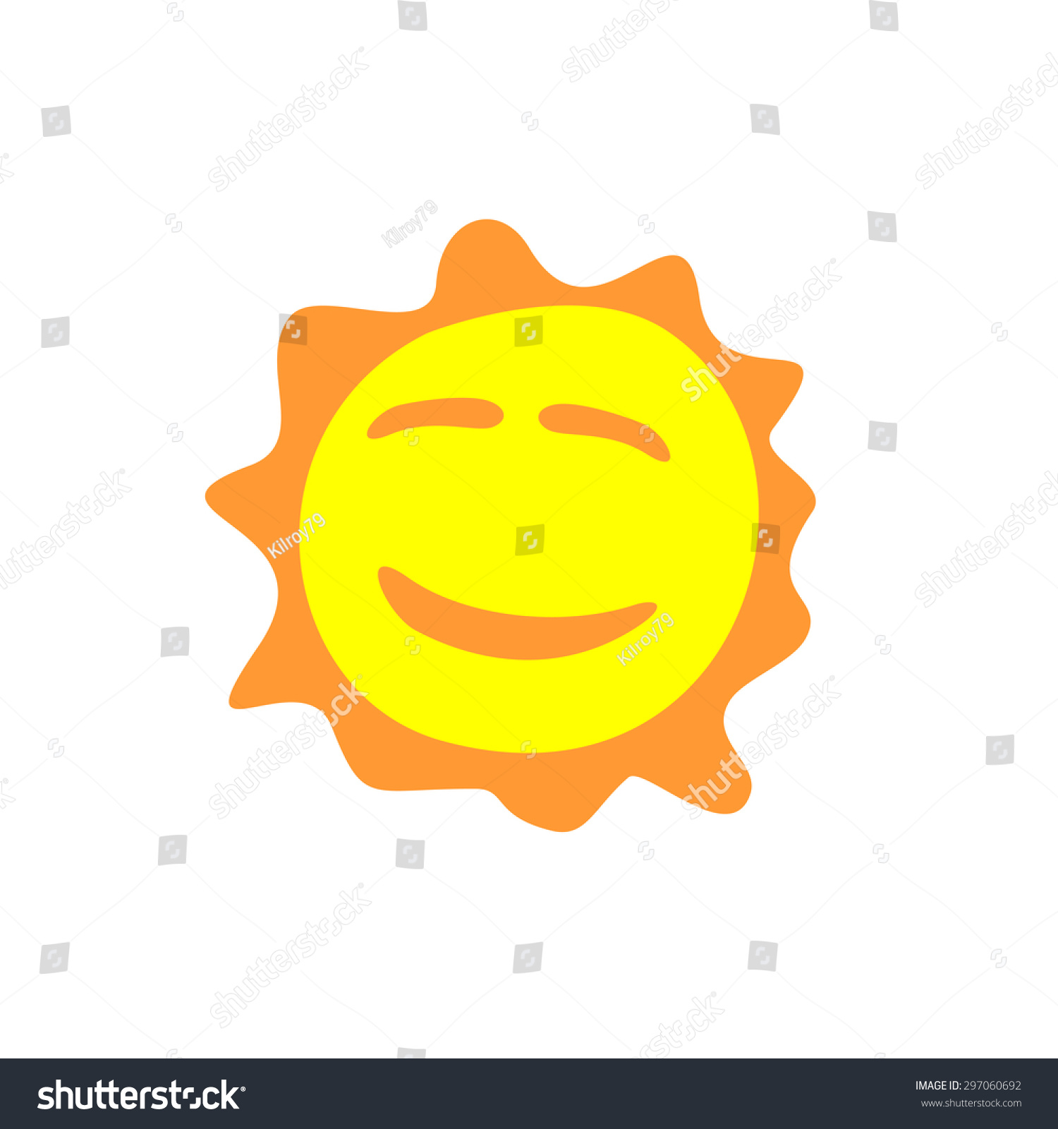 Smiling sun images - Sunshine Fun Sign Smiling Sun Logo