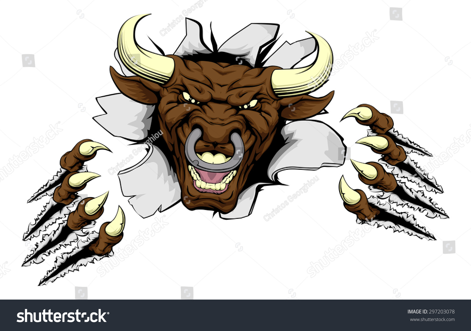 Images: Mean Bull Face