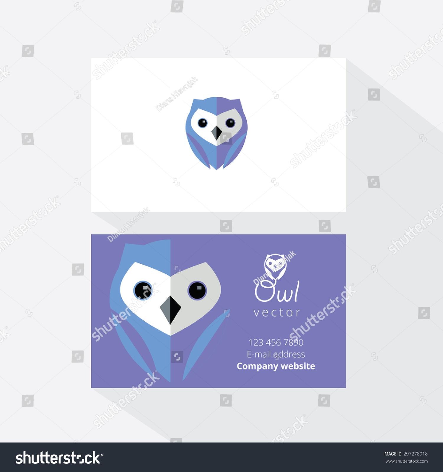Owl Business Cards Ideas