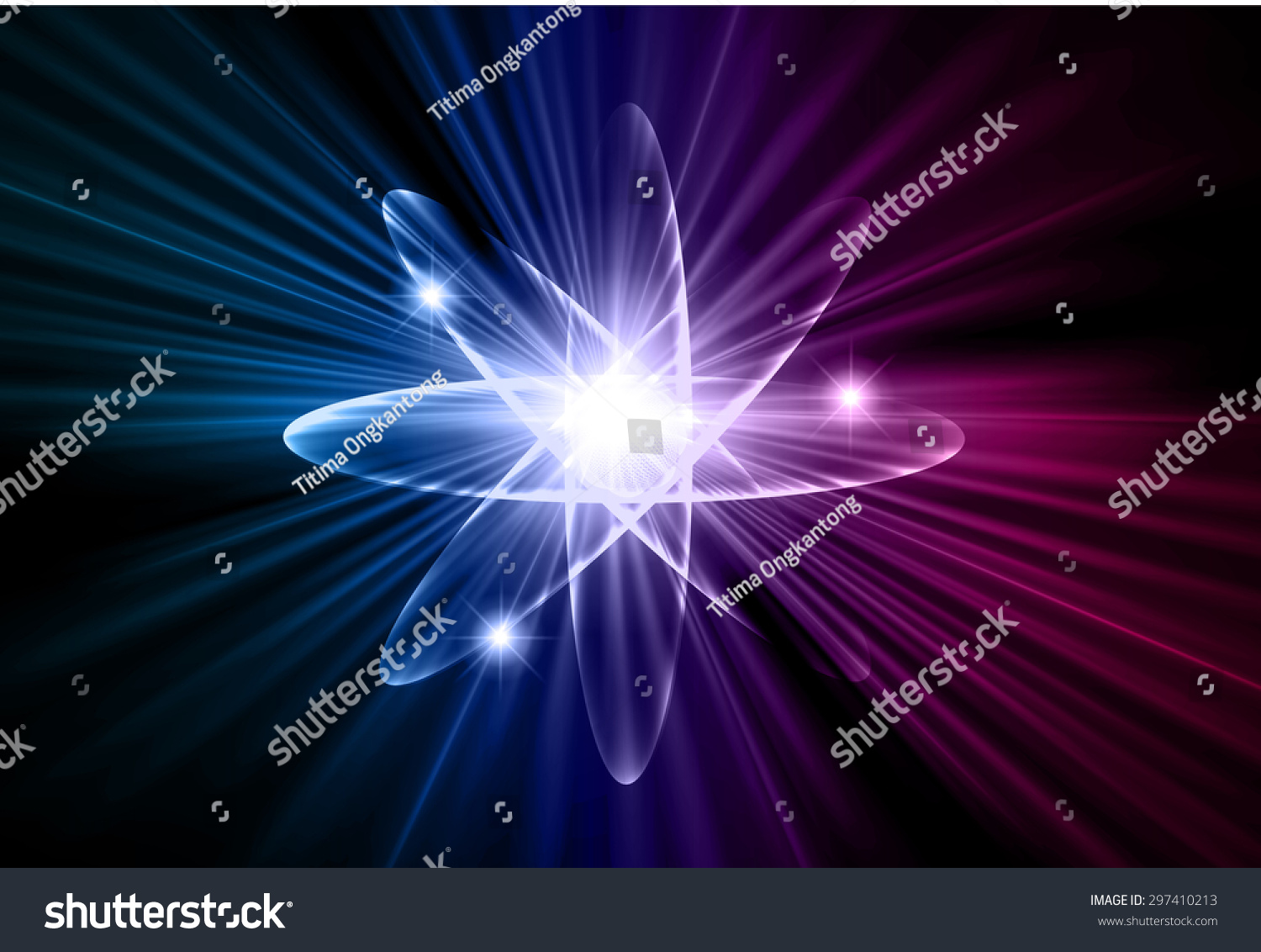 Dark Blue Purple Color Light Abstract Stock Vector