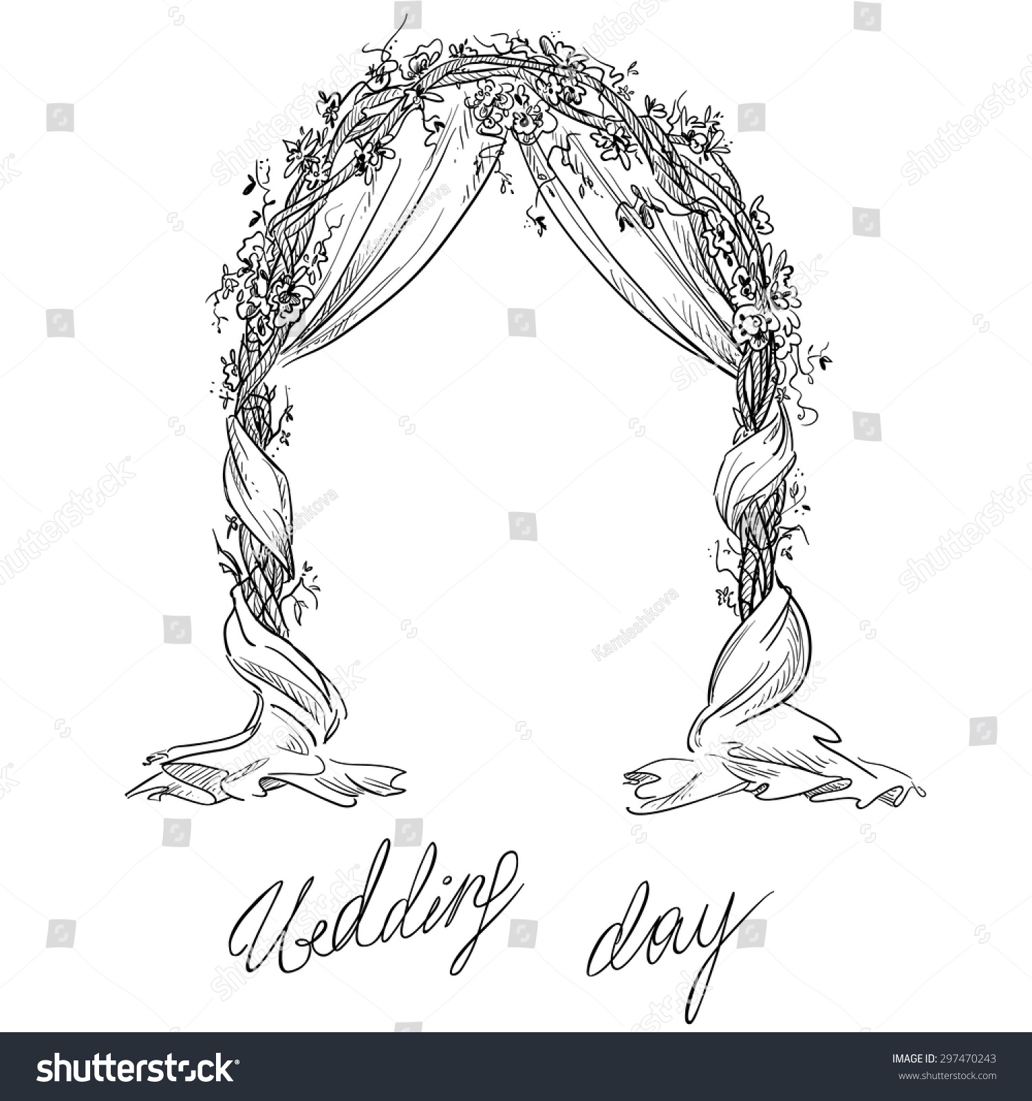 Elegant wedding stage decoration vector wedding wedding stage decoration vector reception stage wedding light junglespirit Images
