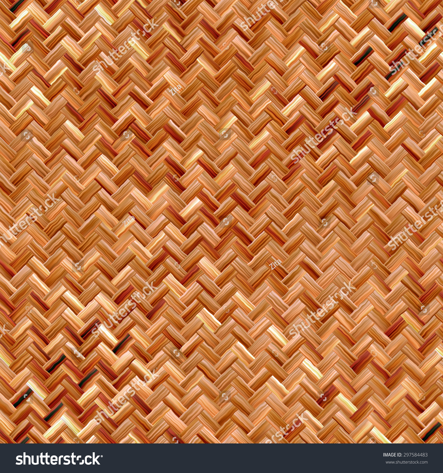 Basket weave brick pattern - Seamless Basket Weave Pattern
