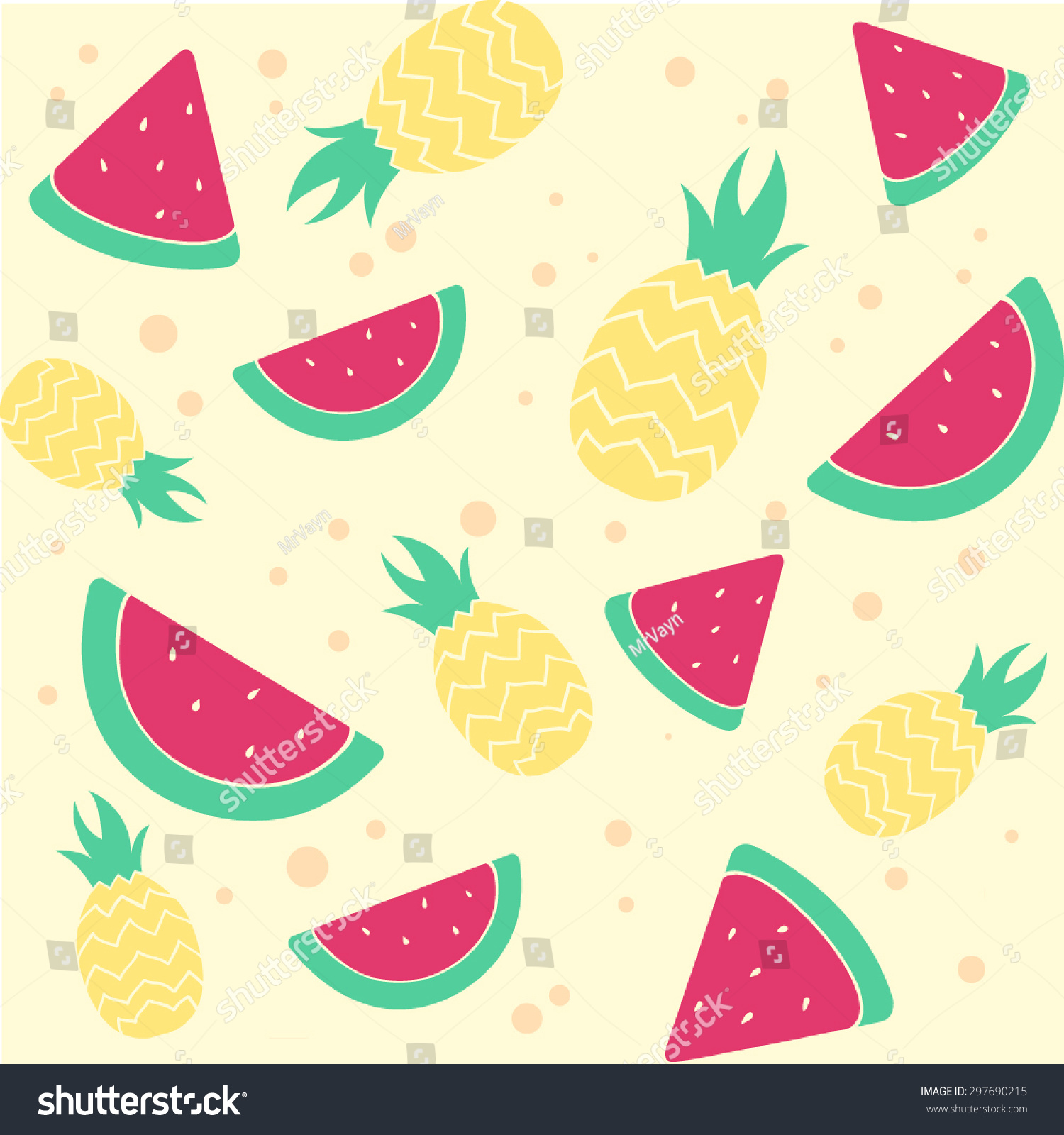 Watermelon and pineapple wallpaper tumblr