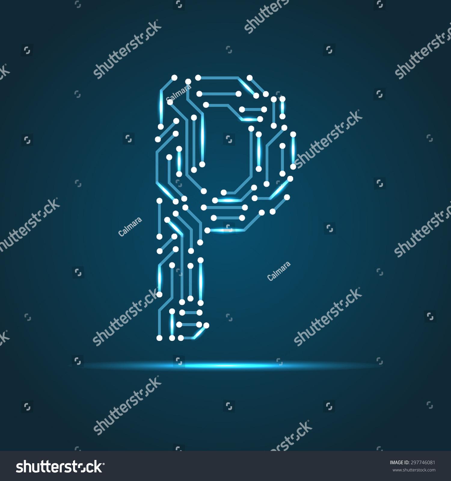 Vector letter p logo sign symbol stock vector 297746081 shutterstock vector letter p logo sign symbol icon design element technology biocorpaavc