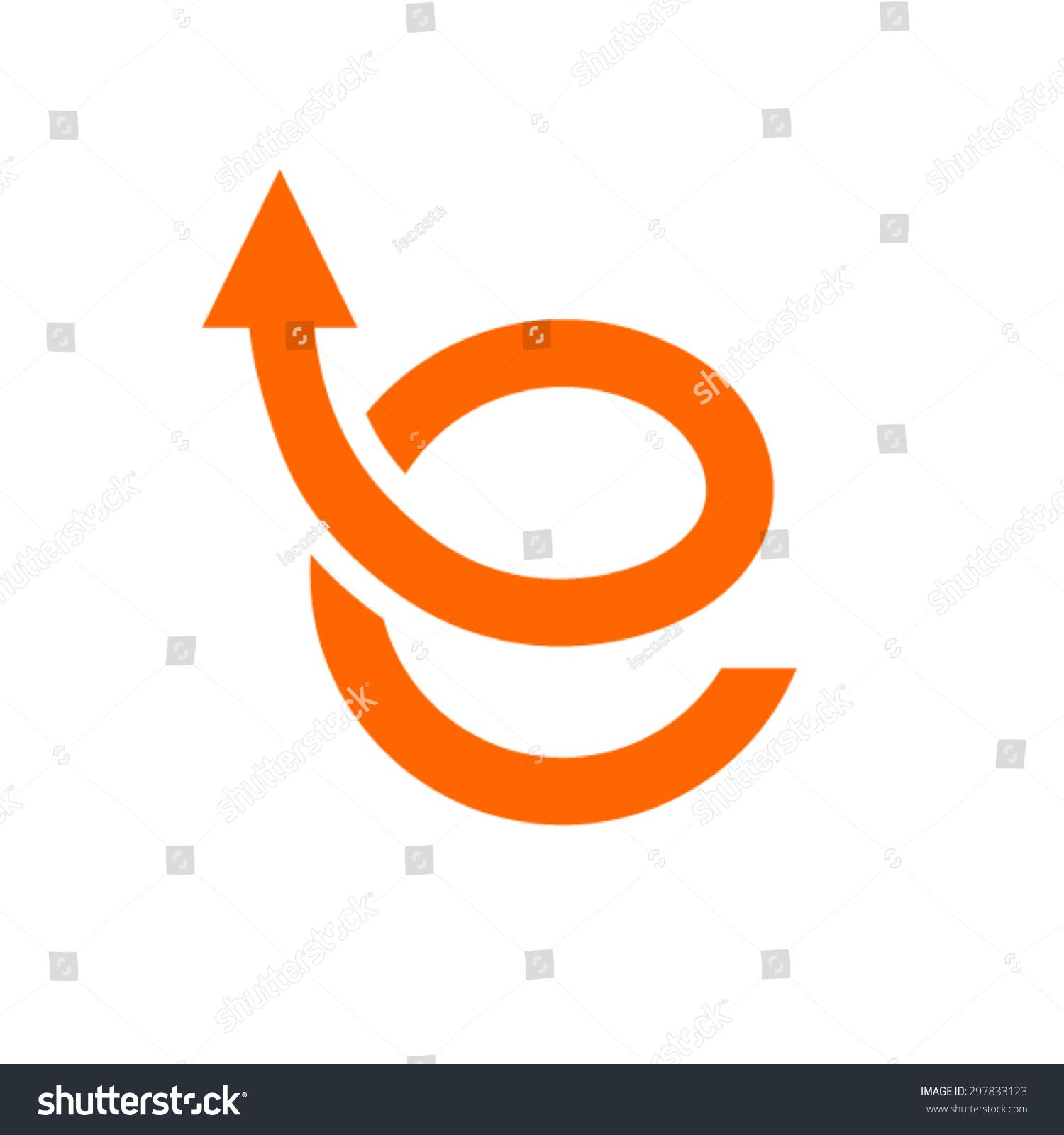 E Shop Logo Design Template E Letter Logo Stock Vector