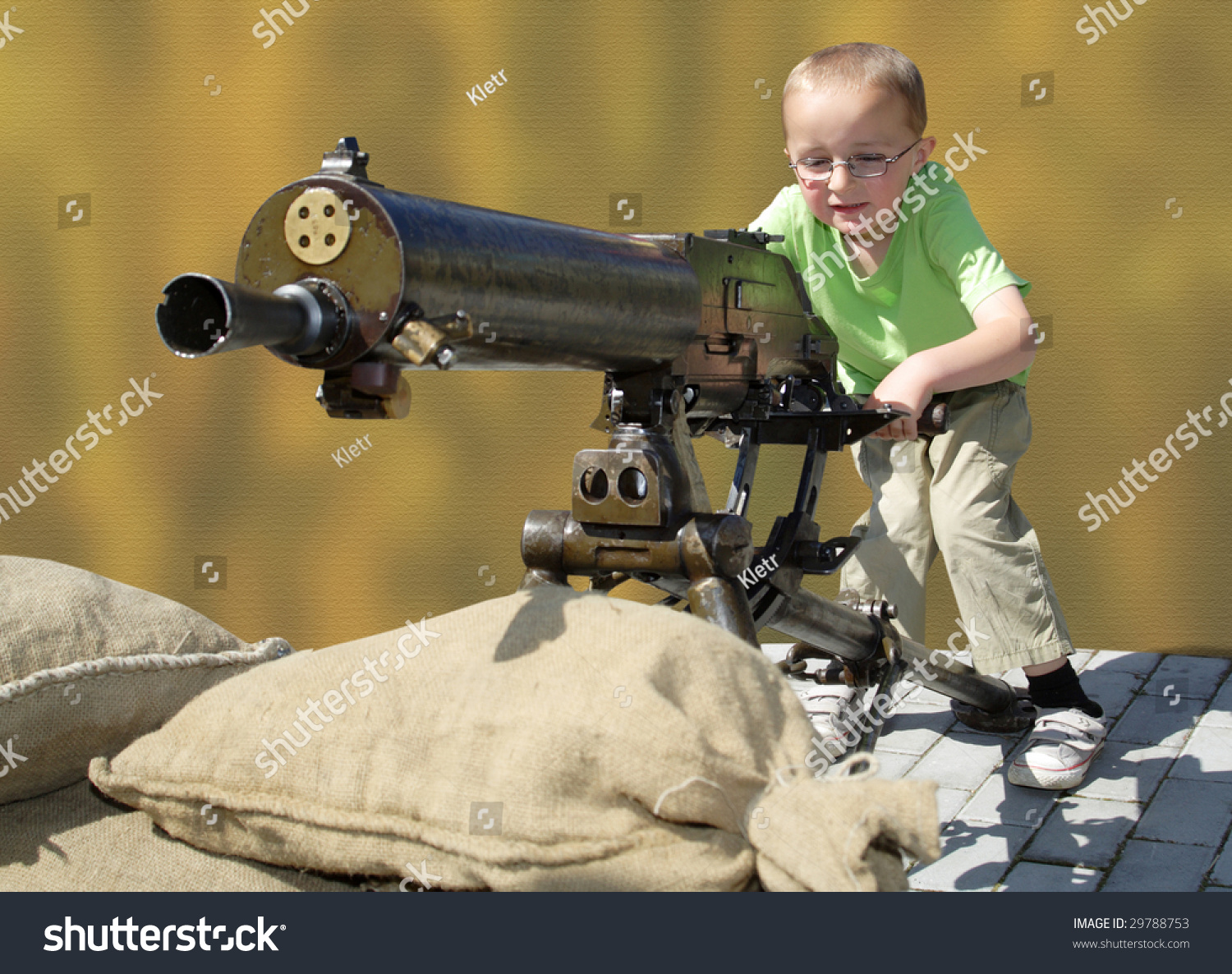 machine gun boy