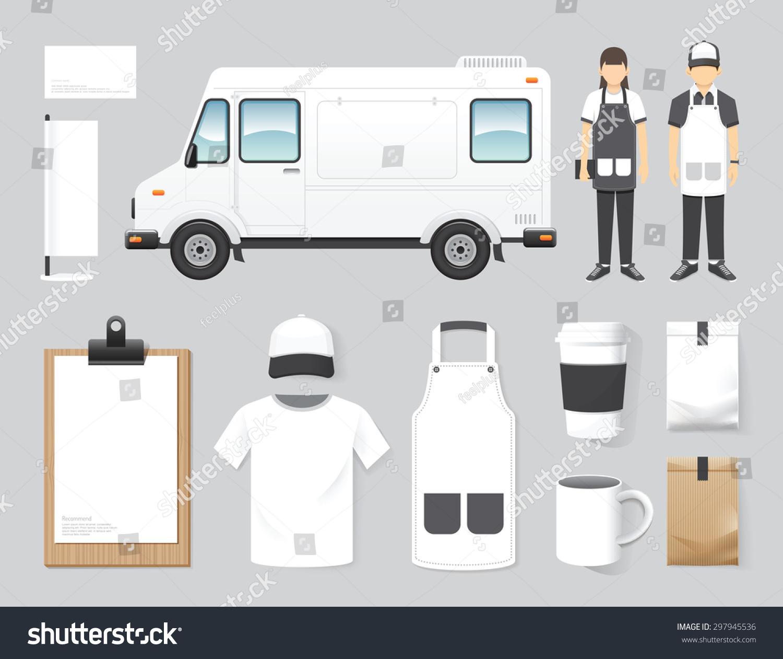 vector restaurant cafe design set street stock vector 297945536 shutterstock. Black Bedroom Furniture Sets. Home Design Ideas