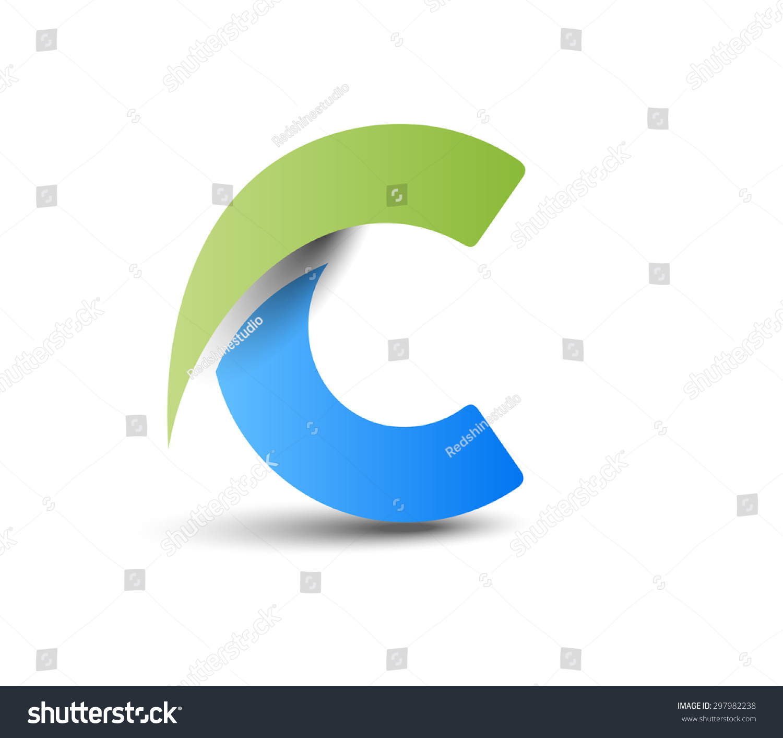 Creative Graphic Alphabet C Design Vector Stock Vector 297982238 ...