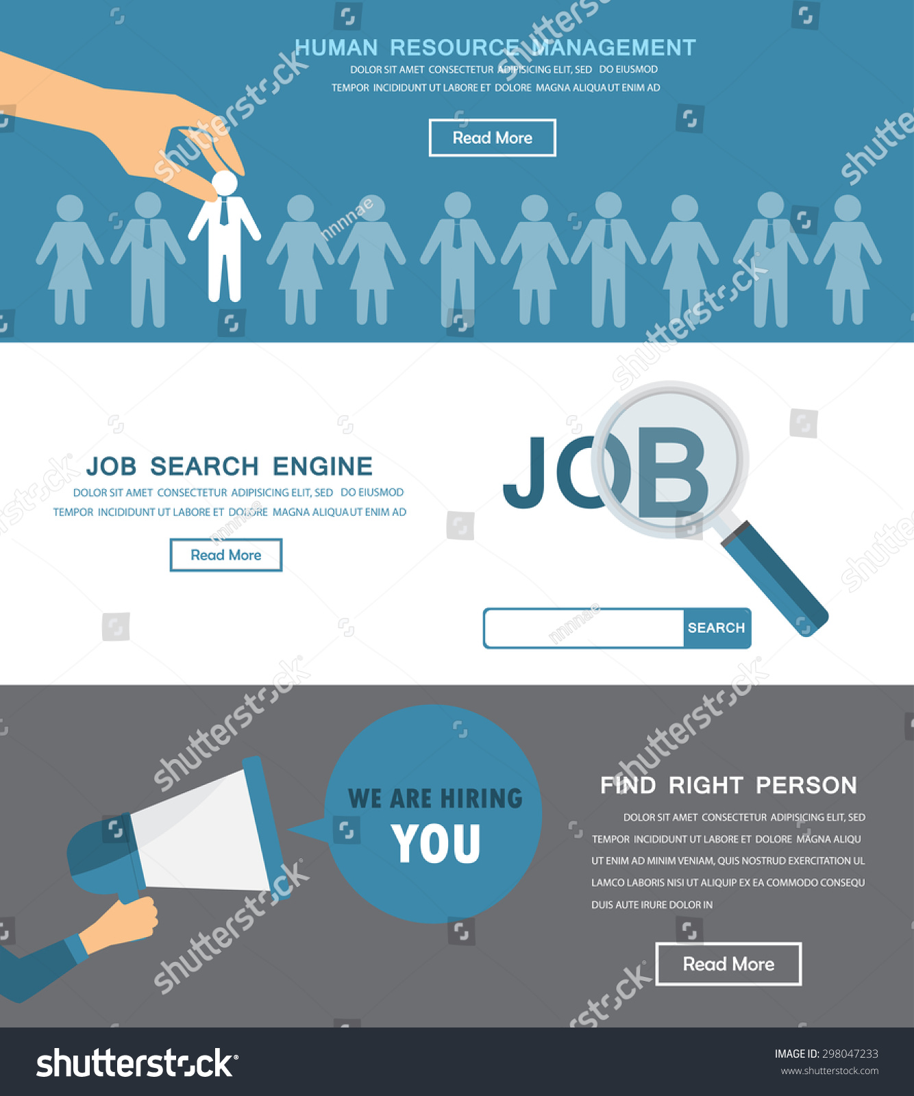 human resource hr infographics element background stock vector human resource hr infographics element and background recruitment process can be used for